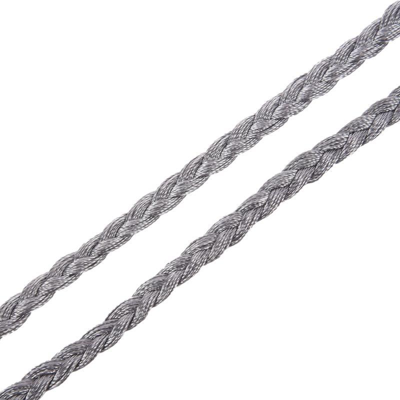 Woven-Pompon-Ceinture-Noeud-Decore-Taille-Chaine-Taille-Corde-P5N3 miniature 25