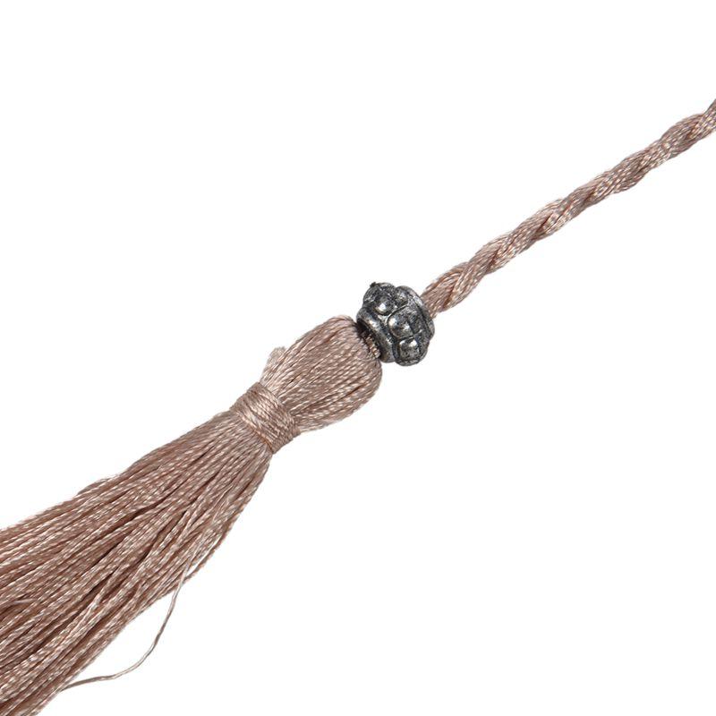 Woven-Pompon-Ceinture-Noeud-Decore-Taille-Chaine-Taille-Corde-P5N3 miniature 40