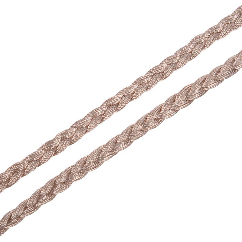 Woven-Pompon-Ceinture-Noeud-Decore-Taille-Chaine-Taille-Corde-P5N3 miniature 41