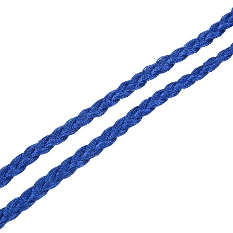 Woven-Pompon-Ceinture-Noeud-Decore-Taille-Chaine-Taille-Corde-P5N3 miniature 57