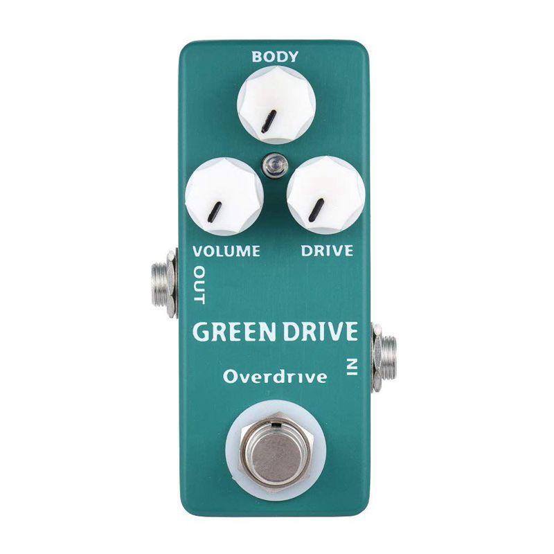 3X(MOSKY MP-53 Grün Drive Overdrive Mini Single Gitarreneffektpedal True BW6A4)