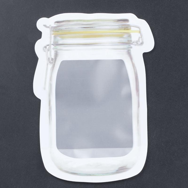 Bouteille-de-rangement-en-forme-de-sac-clair-Sac-en-plastique-Baggy-Grip-au-P9S0 miniature 5