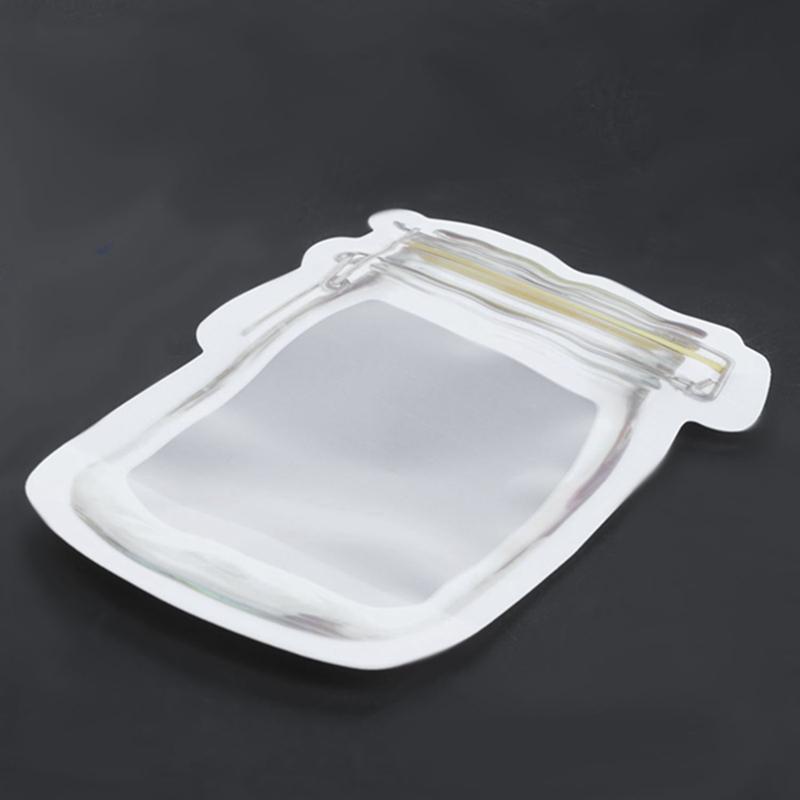 Bouteille-de-rangement-en-forme-de-sac-clair-Sac-en-plastique-Baggy-Grip-au-P9S0 miniature 6