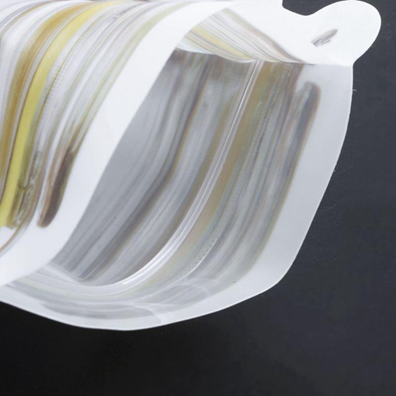 Bouteille-de-rangement-en-forme-de-sac-clair-Sac-en-plastique-Baggy-Grip-au-P9S0 miniature 9
