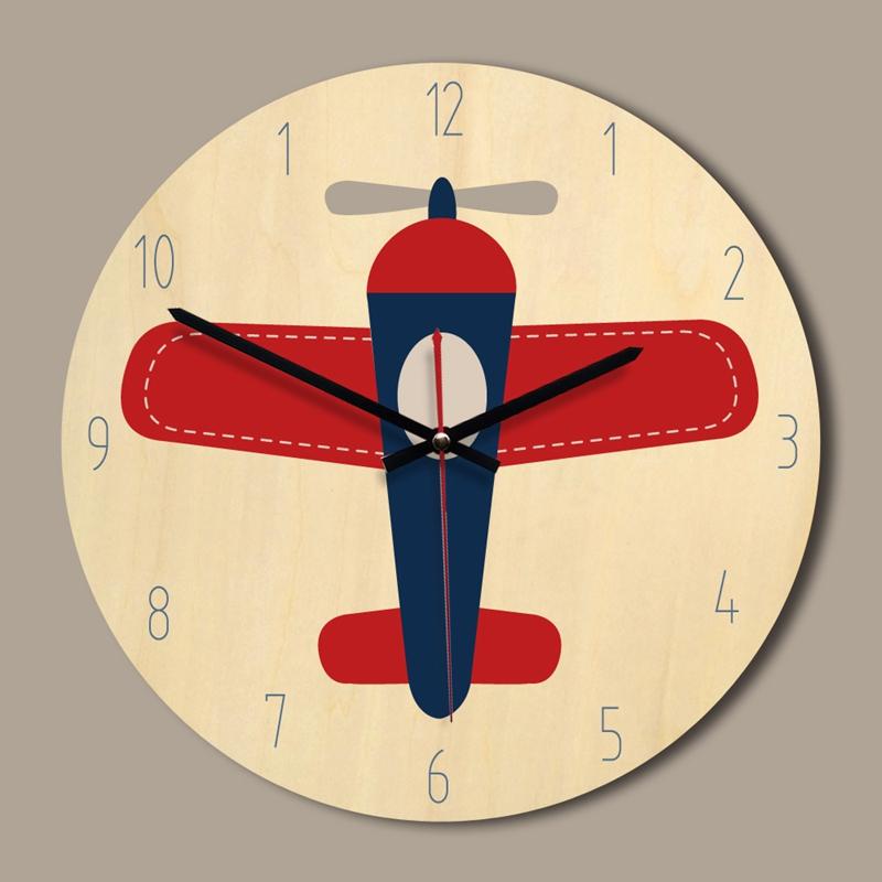 Creative-wall-clock-European-style-British-wooden-clock-A3D2 thumbnail 3