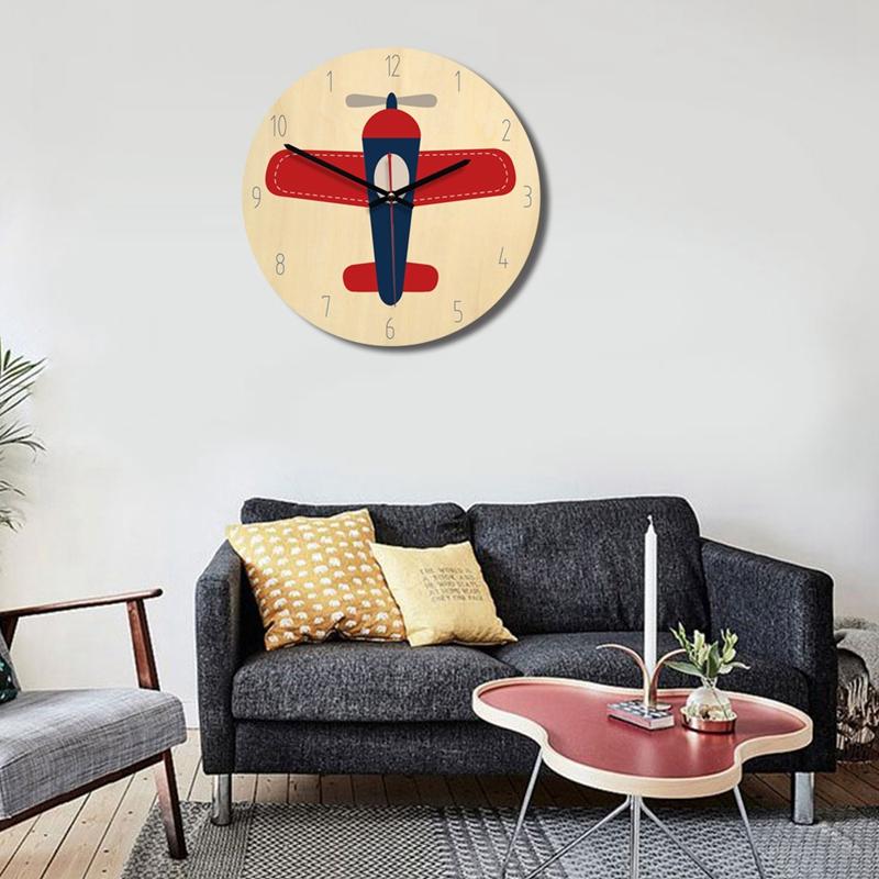Creative-wall-clock-European-style-British-wooden-clock-A3D2 thumbnail 4