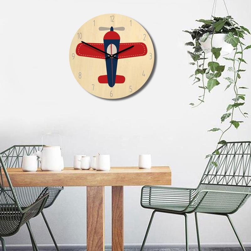 Creative-wall-clock-European-style-British-wooden-clock-A3D2 thumbnail 5