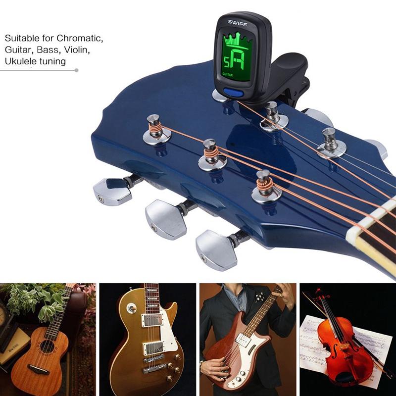 SWIFF-A9-Clip-On-Clamp-Mixer-Automatische-Digitale-Elektronische-Krone-Tune-Y7X8 Indexbild 4
