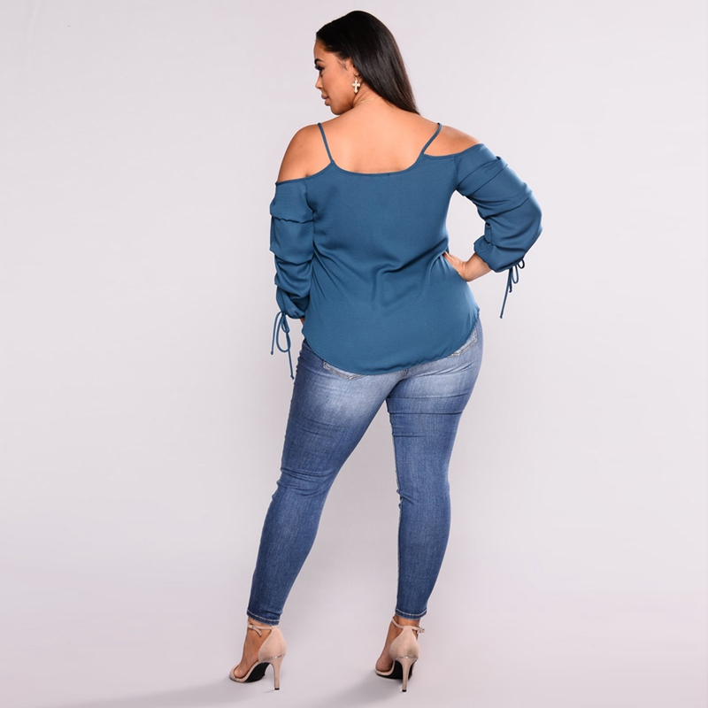 Women-Plus-Size-High-Waist-Skinny-Denim-Pencil-Pants-Ladies-Casual-Stretch-W5Z1 thumbnail 3