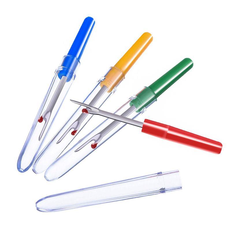 nice d/'outils a aiguilles l/'aiguille poincon a broderie Blanc+Bleu diHommesions