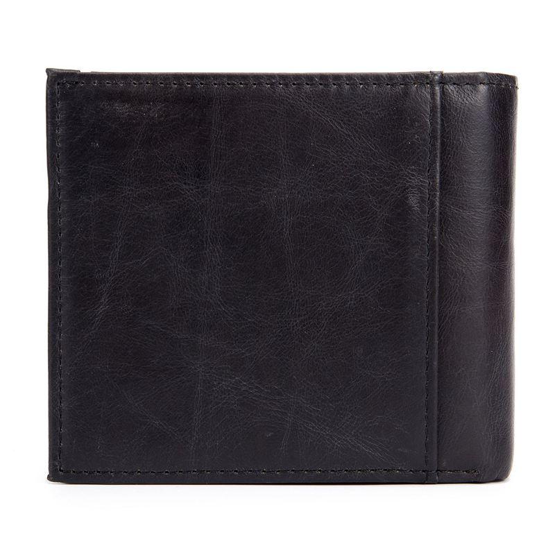 BULLCAPTAIN-Cuir-veritable-Portefeuilles-pour-hommes-Porte-cartes-de-credit-N8T4 miniature 3