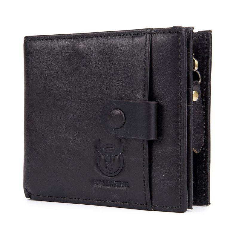 BULLCAPTAIN-Cuir-veritable-Portefeuilles-pour-hommes-Porte-cartes-de-credit-N8T4 miniature 6