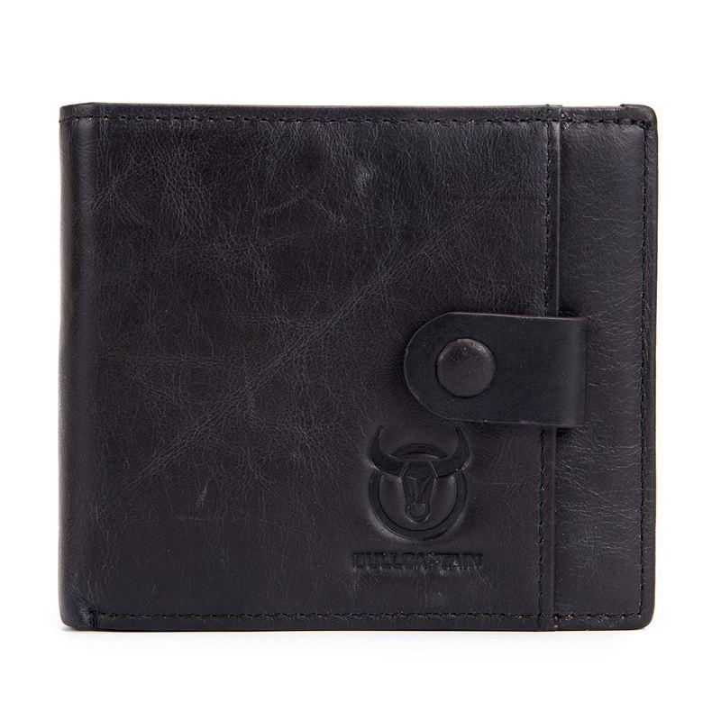 BULLCAPTAIN-Cuir-veritable-Portefeuilles-pour-hommes-Porte-cartes-de-credit-N8T4 miniature 7