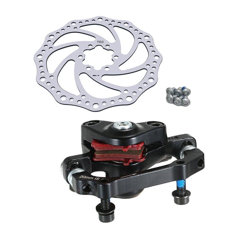 Ensemble-de-frein-a-disque-mecanique-en-alliage-d-039-aluminium-de-velo-de-bicyc-5O4 miniature 3