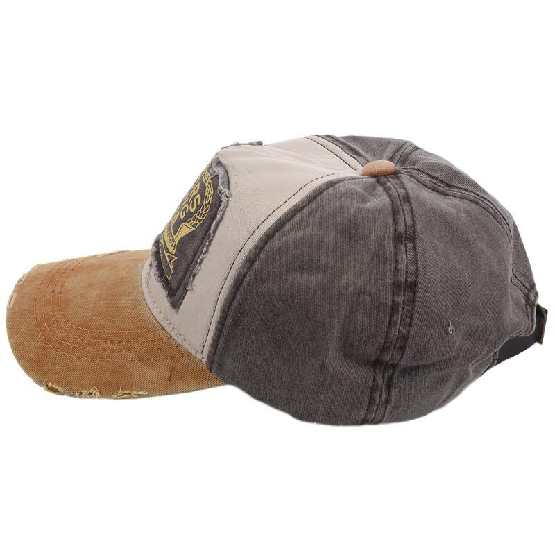1X-Gorra-de-beisbol-de-Hip-Hop-de-reentrada-de-llano-Sombrero-ajustable-de-9M8 miniatura 13