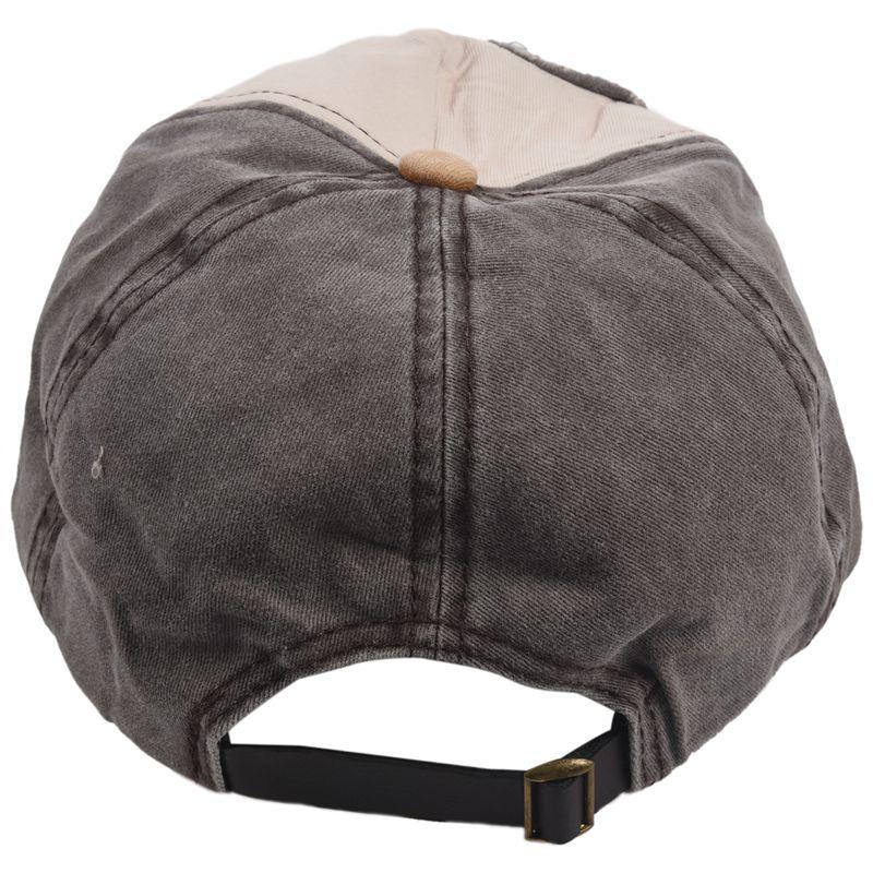 1X-Gorra-de-beisbol-de-Hip-Hop-de-reentrada-de-llano-Sombrero-ajustable-de-9M8 miniatura 14