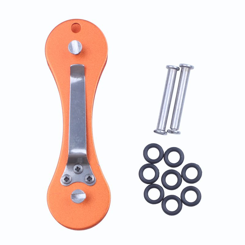 New-Aluminum-Smart-Key-Holder-Organizer-Clip-Folder-Keychain-Pocket-Tool-T3Z2 thumbnail 14