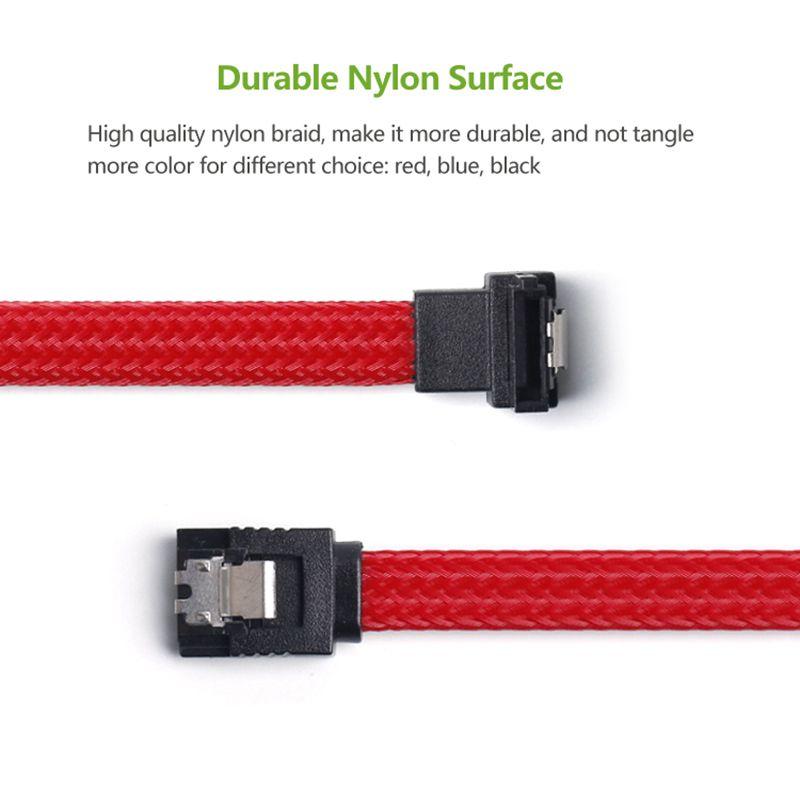 50CM-SATA-3-0-III-SATA3-7pin-Data-Cable-Right-Angle-6Gb-s-SSD-Cables-HDD-Ha-P8U4 thumbnail 4