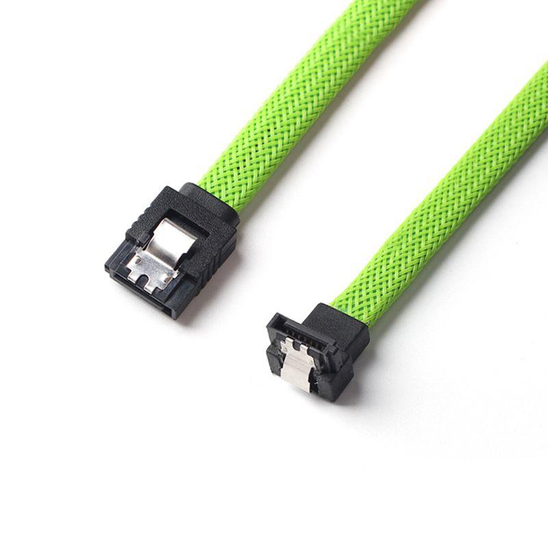 50CM-SATA-3-0-III-SATA3-7pin-Data-Cable-Right-Angle-6Gb-s-SSD-Cables-HDD-Ha-P8U4 thumbnail 6