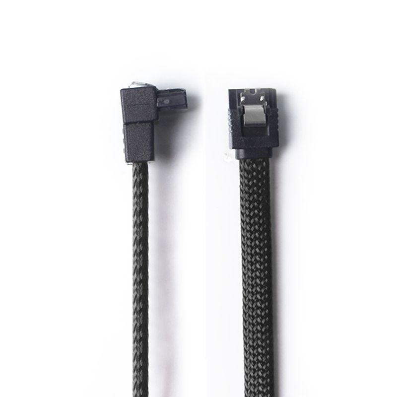 50CM-SATA-3-0-III-SATA3-7pin-Data-Cable-Right-Angle-6Gb-s-SSD-Cables-HDD-Ha-P8U4 thumbnail 7