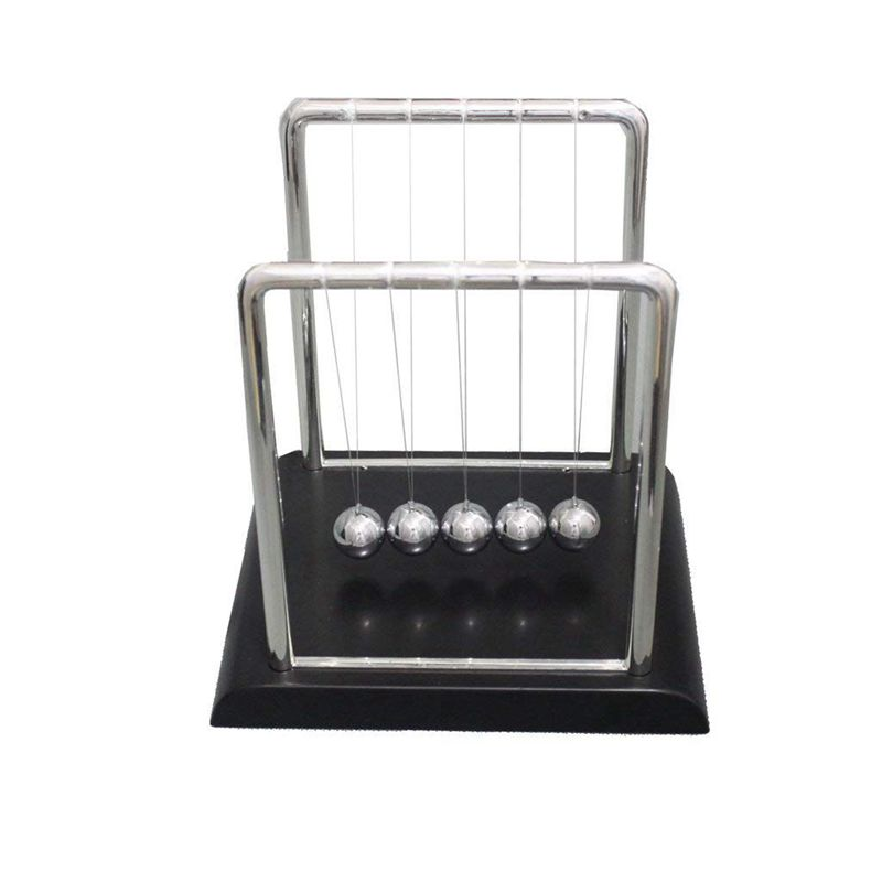 6X(Physics Mechanics Science Toys - Newton's Cradle,Balance Balls Desk Toy S3U3