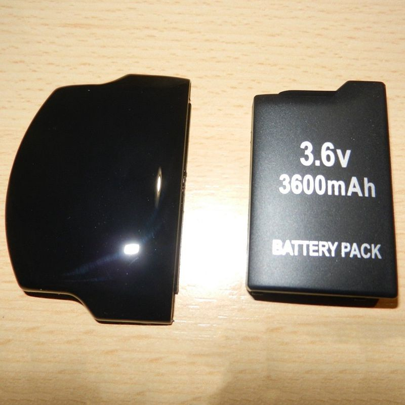 2X-1-pcs-Just-for-Sony-PSP-Battery-SLIM-2000-3000-Replacement-Rechargeable-E8Z2 thumbnail 3