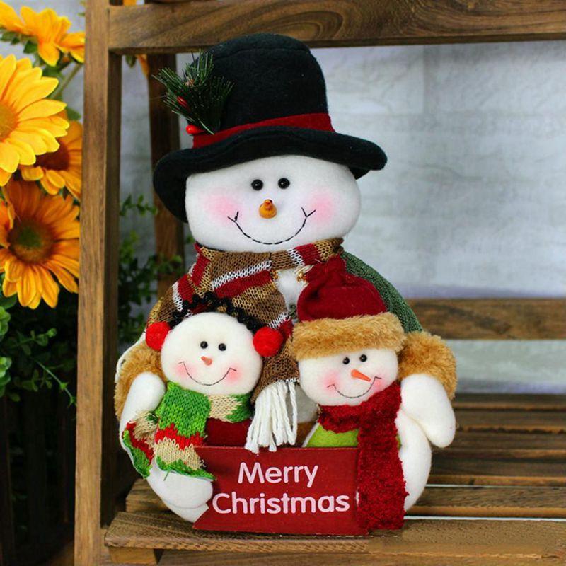 2X-Weihnachten-Puppen-Weihnachtsschmuck-Baum-Haengen-Dekor-Sachen-SpielzeugP6E2 Indexbild 3