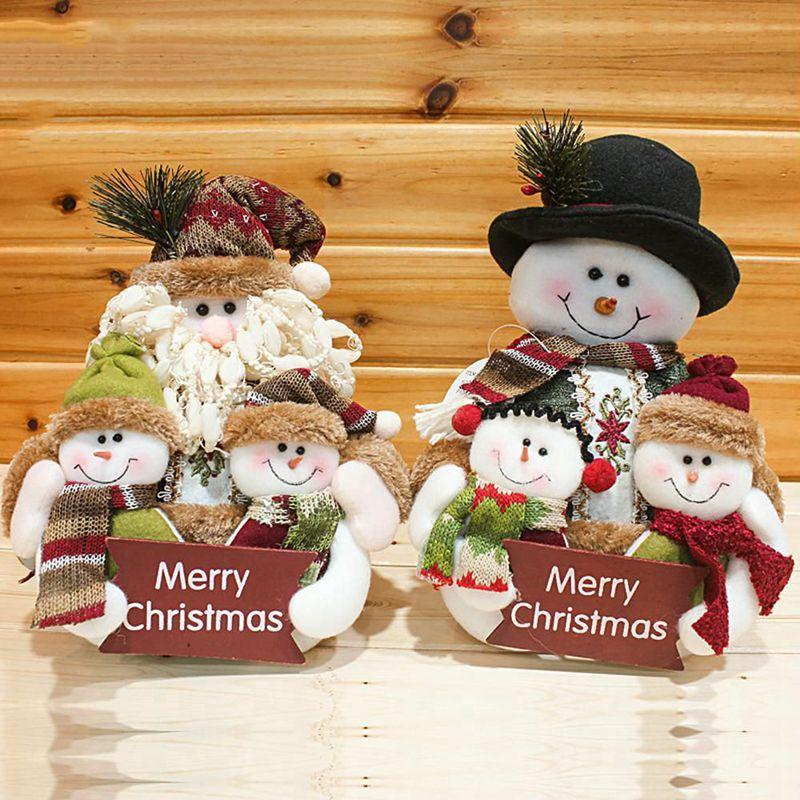2X-Weihnachten-Puppen-Weihnachtsschmuck-Baum-Haengen-Dekor-Sachen-SpielzeugP6E2 Indexbild 5