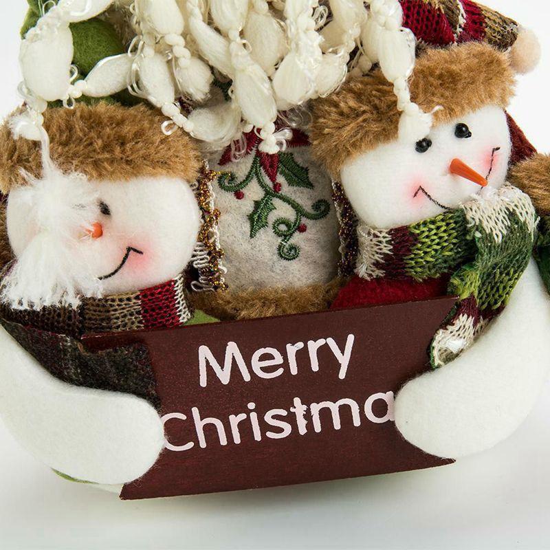 2X-Weihnachten-Puppen-Weihnachtsschmuck-Baum-Haengen-Dekor-Sachen-SpielzeugP6E2 Indexbild 7