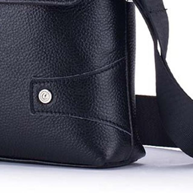 BULLCAPTAIN-Sac-de-valise-pour-hommes-Sac-a-bandouliere-en-cuir-veritable-pou-T6 miniature 4