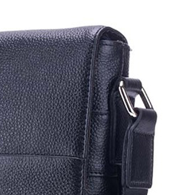 BULLCAPTAIN-Sac-de-valise-pour-hommes-Sac-a-bandouliere-en-cuir-veritable-pou-T6 miniature 7