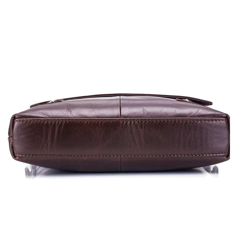 BULLCAPTAIN-Sac-de-valise-pour-hommes-Sac-a-bandouliere-en-cuir-veritable-pou-T6 miniature 13