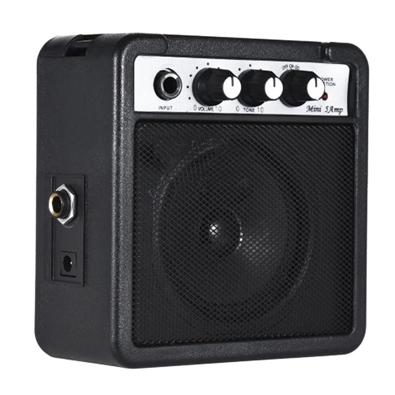 Mini-5-Watt-9V-Battery-Powered-Amp-Amplifier-Speaker-for-Acoustic-Electric-G-DS thumbnail 3