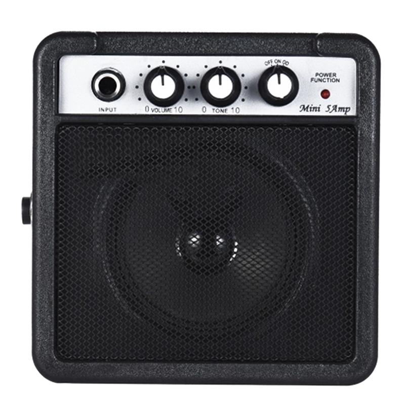 Mini-5-Watt-9V-Battery-Powered-Amp-Amplifier-Speaker-for-Acoustic-Electric-G-DS thumbnail 4