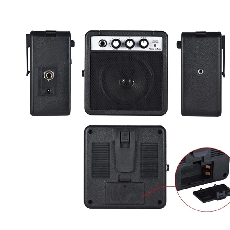 Mini-5-Watt-9V-Battery-Powered-Amp-Amplifier-Speaker-for-Acoustic-Electric-G-DS thumbnail 5