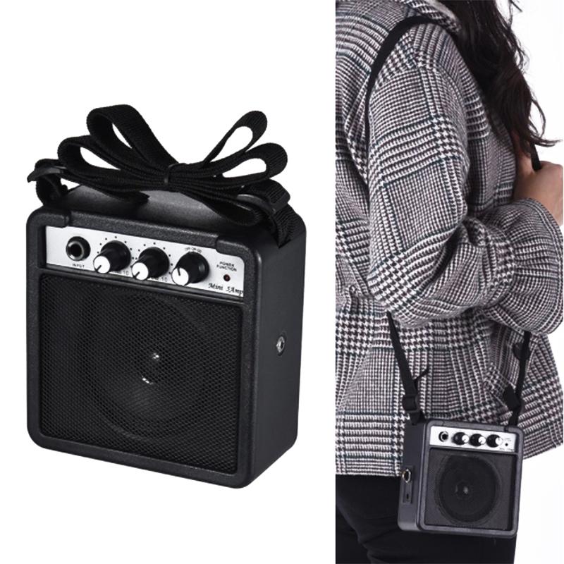 Mini-5-Watt-9V-Battery-Powered-Amp-Amplifier-Speaker-for-Acoustic-Electric-G-DS thumbnail 6