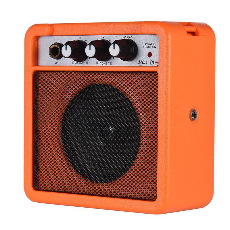 Mini-5-Watt-9V-Battery-Powered-Amp-Amplifier-Speaker-for-Acoustic-Electric-G-DS thumbnail 9