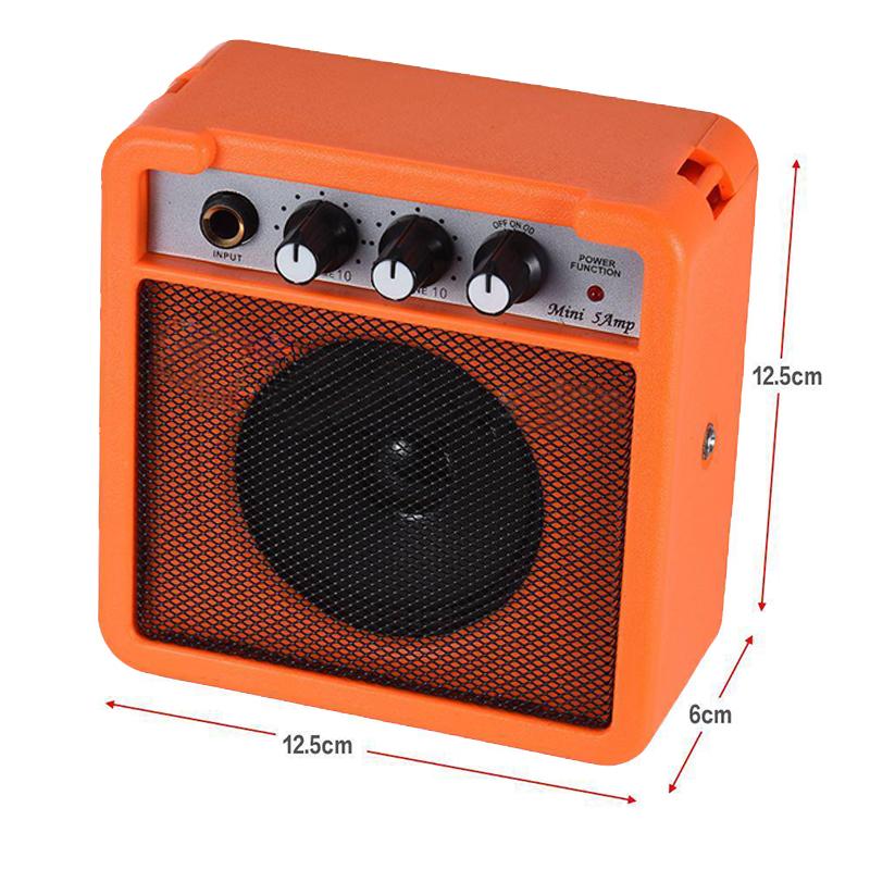 Mini-5-Watt-9V-Battery-Powered-Amp-Amplifier-Speaker-for-Acoustic-Electric-G-DS thumbnail 12
