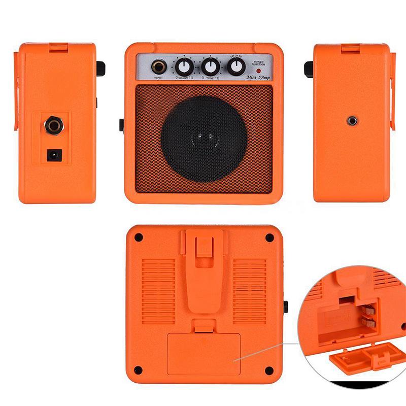 Mini-5-Watt-9V-Battery-Powered-Amp-Amplifier-Speaker-for-Acoustic-Electric-G-DS thumbnail 14