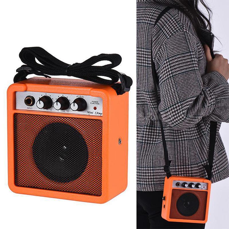 Mini-5-Watt-9V-Battery-Powered-Amp-Amplifier-Speaker-for-Acoustic-Electric-G-DS thumbnail 15