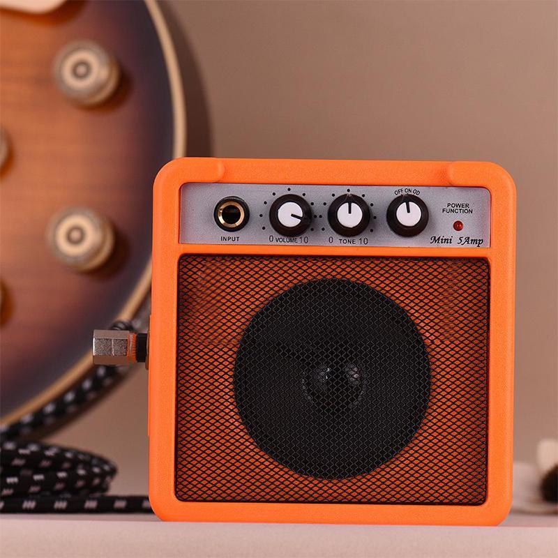 Mini-5-Watt-9V-Battery-Powered-Amp-Amplifier-Speaker-for-Acoustic-Electric-G-DS thumbnail 16