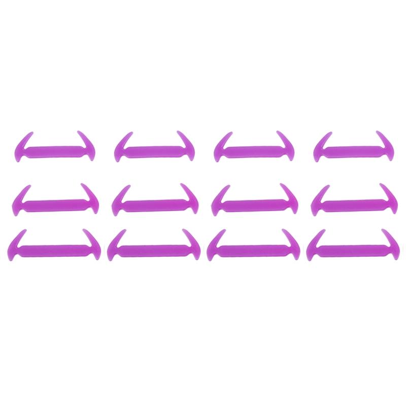 Not-Attacher-Lacets-Elastiques-en-Silicone-Diy-Pour-Basket-Bottes-Baskets-d-N6H2 miniature 35