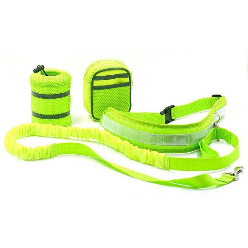 2X-Ceinture-elastique-en-nylon-sangle-corde-laisse-pour-chien-Pour-marcher-C-G9 miniature 4