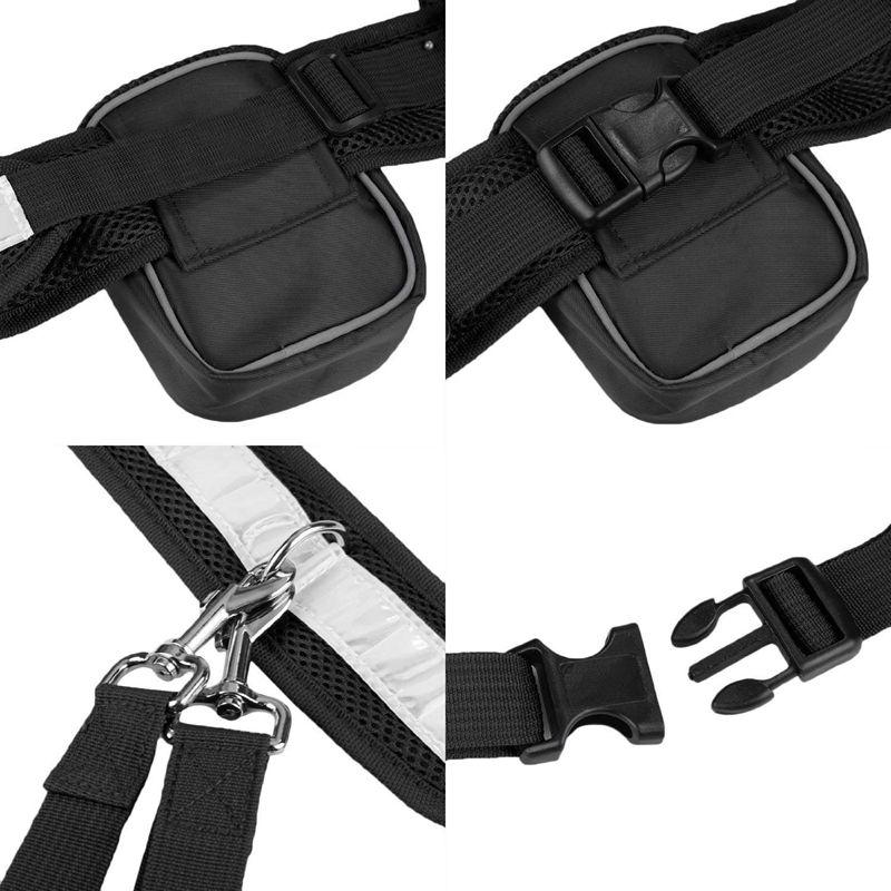 2X-Ceinture-elastique-en-nylon-sangle-corde-laisse-pour-chien-Pour-marcher-C-G9 miniature 17