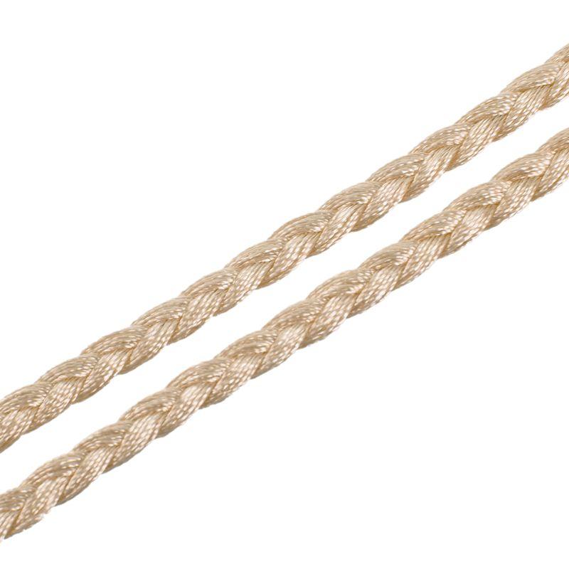 Woven-Pompon-Ceinture-Noeud-Decore-Taille-Chaine-Taille-Corde-P5N3 miniature 97
