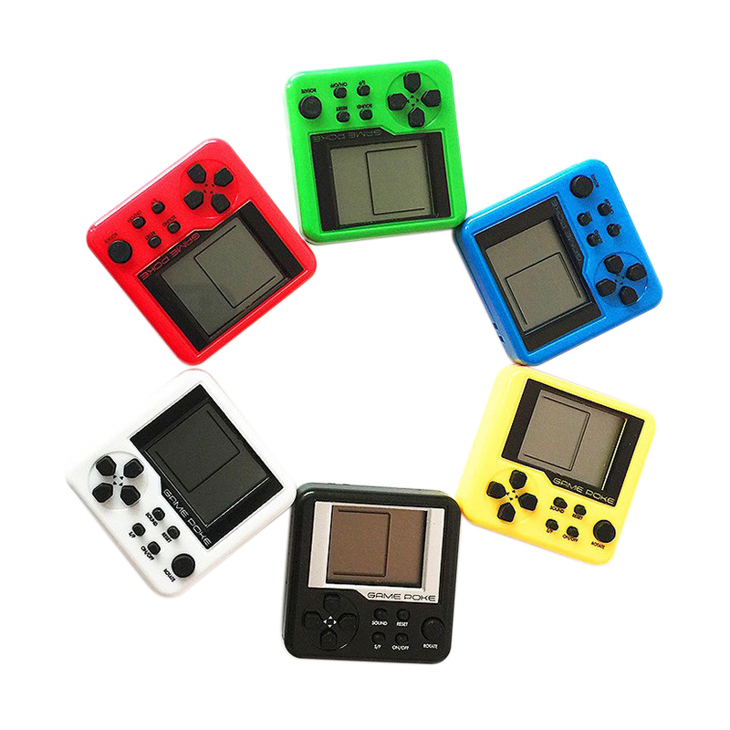 Game Consoles For Kids >> Random Color Consoles Retro Mini 3d Puzzle Kids Russian Box Game
