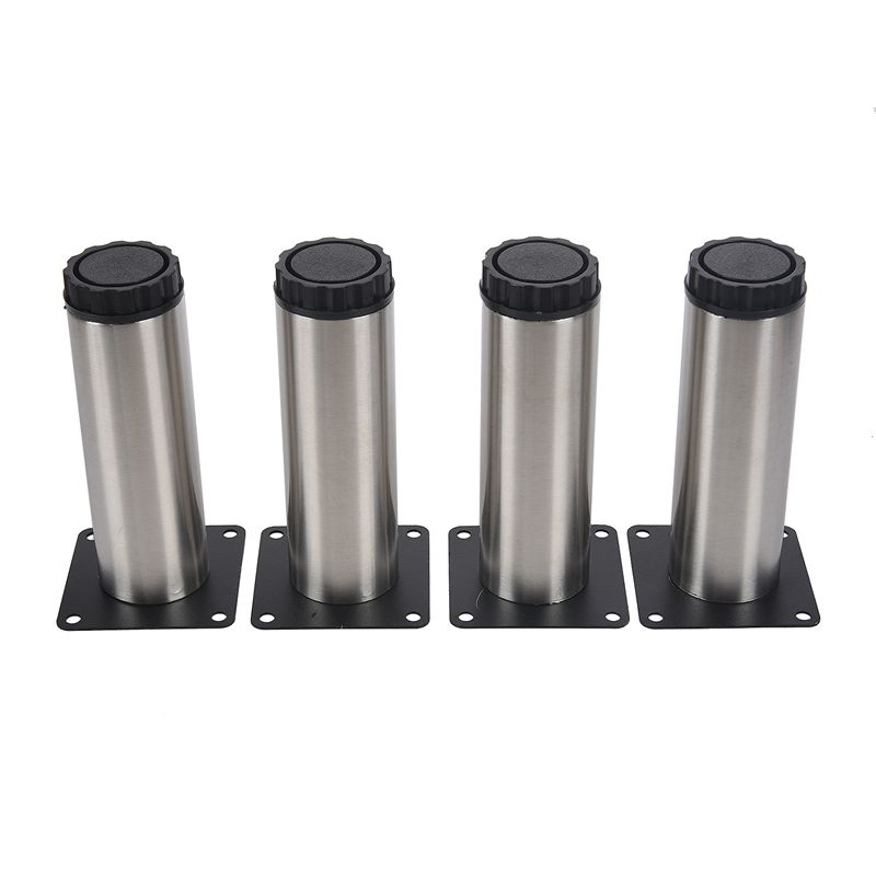 Adjustable Kitchen Cabinet Legs: 1X(Kitchen Cupboard Cylinder Adjustable Cabinet Legs