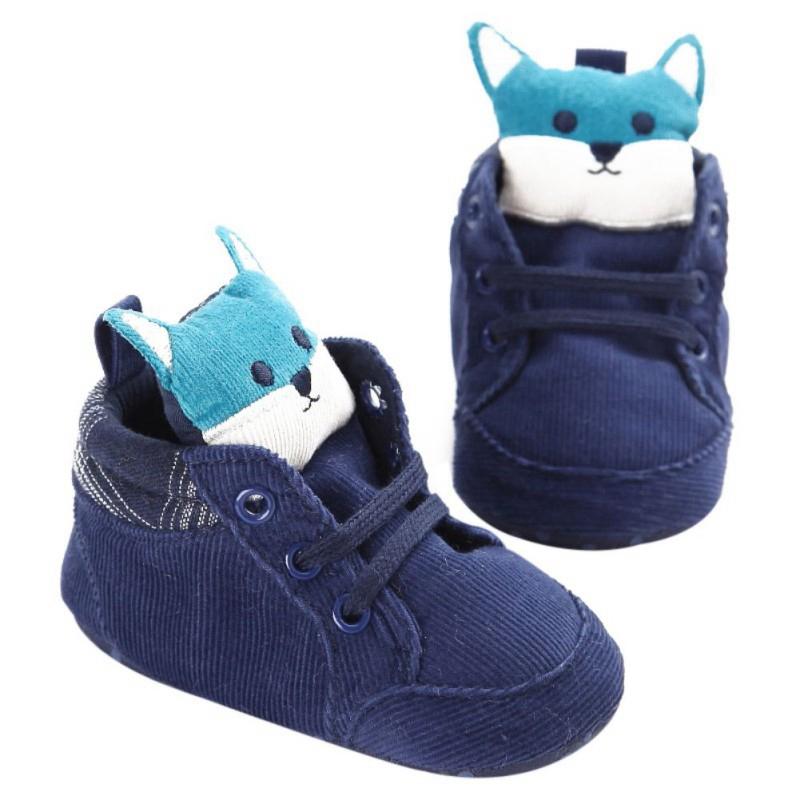 1-paire-de-chaussures-de-bebe-d-039-automne-enfants-garcon-fille-tete-de-renard-U0O3 miniature 3