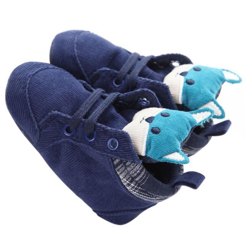 1-paire-de-chaussures-de-bebe-d-039-automne-enfants-garcon-fille-tete-de-renard-U0O3 miniature 6