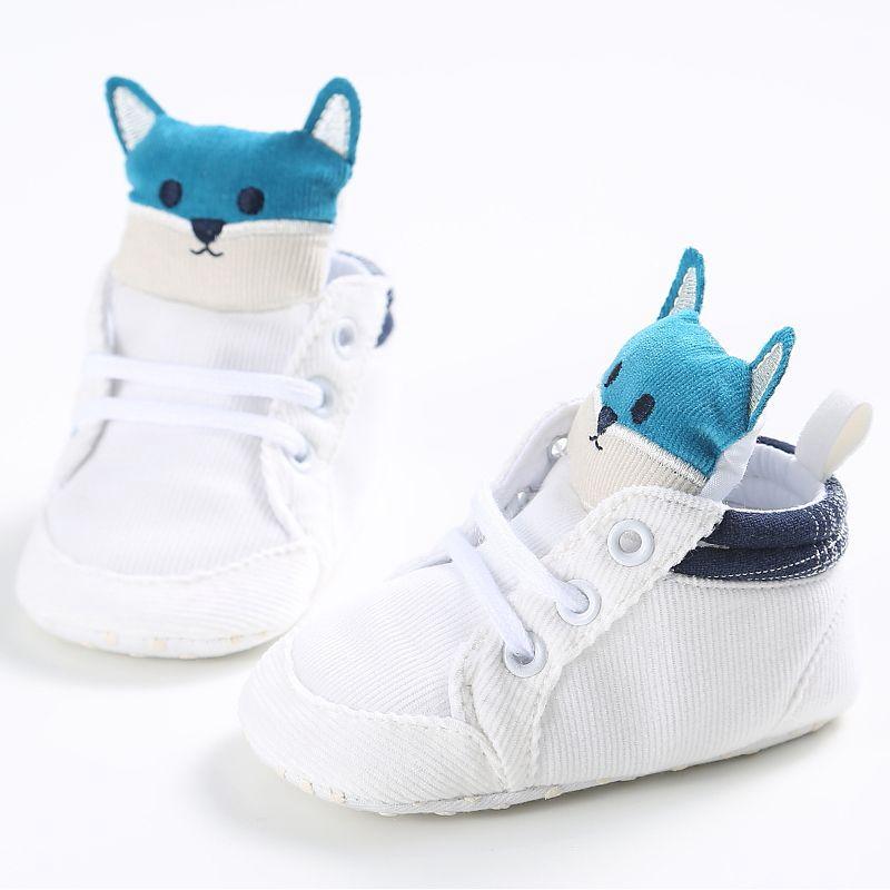 1-paire-de-chaussures-de-bebe-d-039-automne-enfants-garcon-fille-tete-de-renard-U0O3 miniature 10